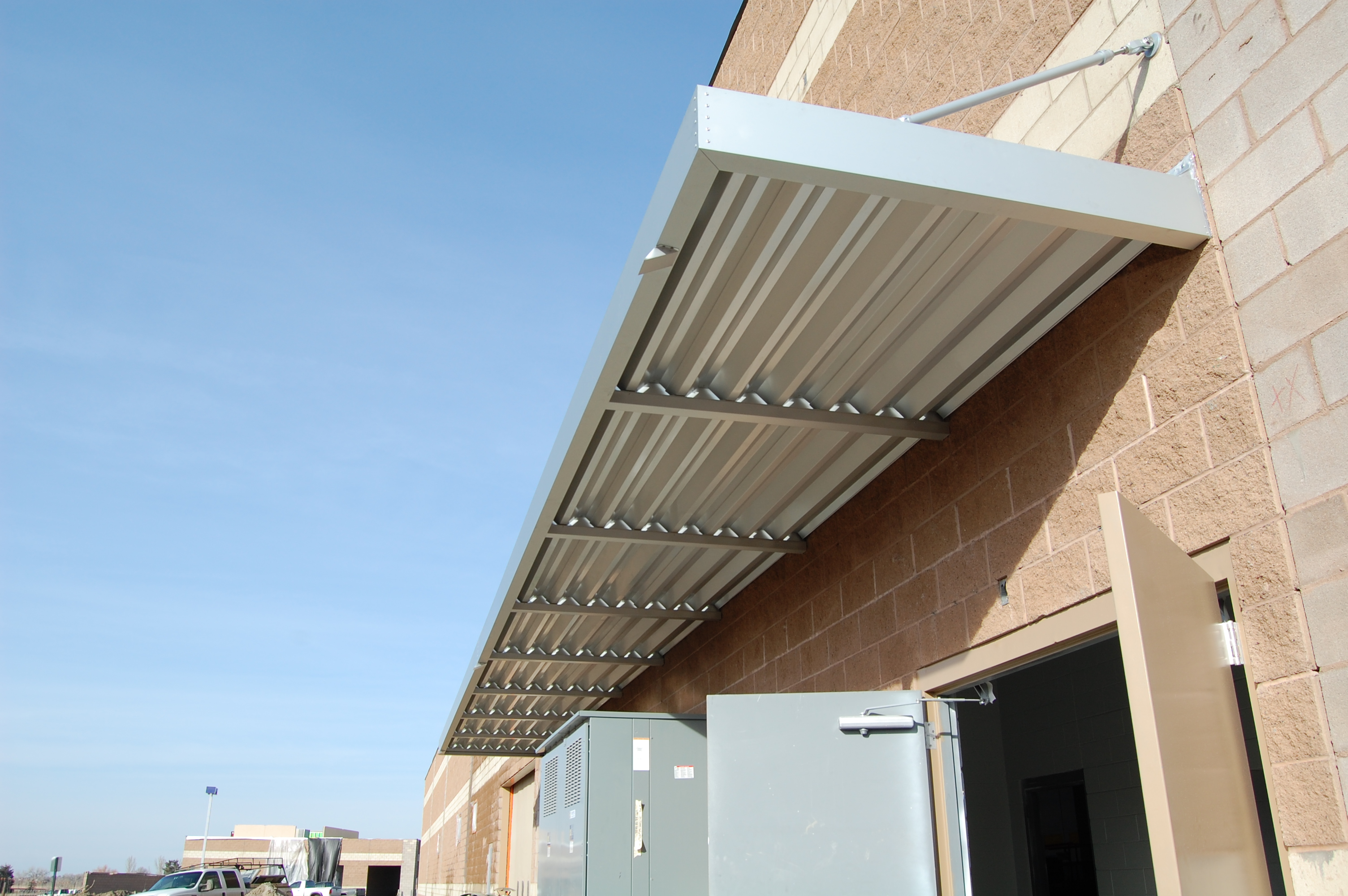 Extruded Aluminum Canopies Csc Awnings Inc